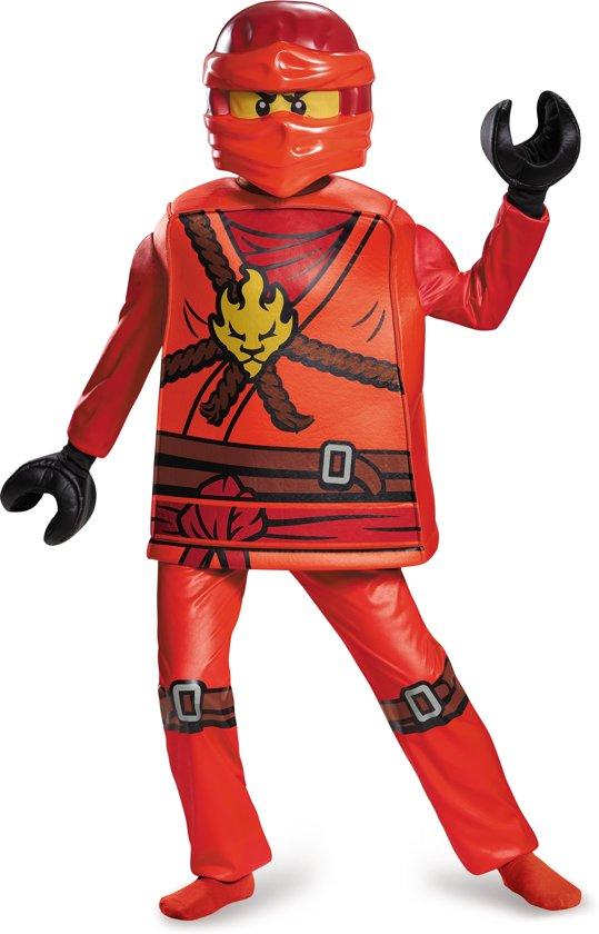 LEGO NINJAGO Kai deluxe kostuum voor kinderen - Verkleedkleding - Maat 140/152