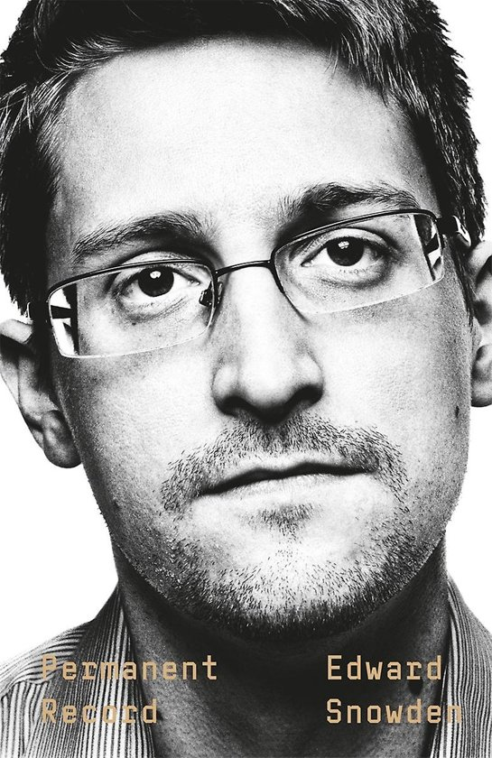 Boek cover PERMANENT RECORD van Edward Snowden (Paperback)