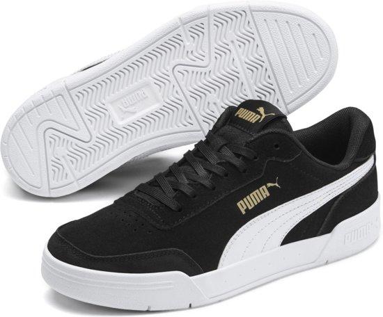 PUMA Caracal SD Jr Sneakers Kinderen Puma Black Puma White Puma Team Gold Maat 37