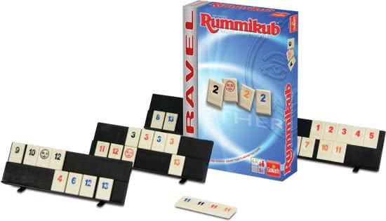Thumbnail van een extra afbeelding van het spel Goliath - Reisspel - Rummikub - 6+ Jaar