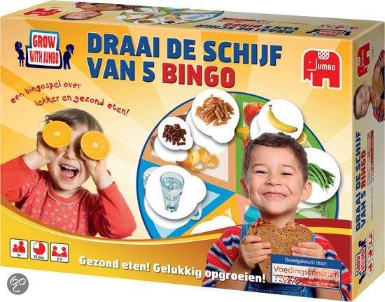 Afbeelding van het spel Grow with Jumbo - Draai De Schijf Van 5 Bingo