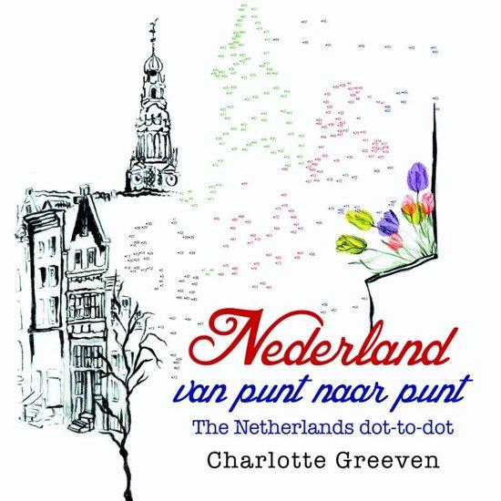 Nederland van punt naar punt/The Netherlands dot-to-dot