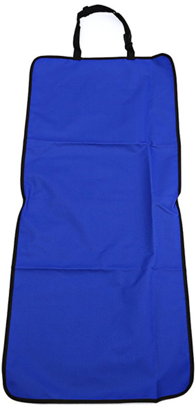 Universele Honden Autostoelhoes met Antisliplaag  106 x 46 CM I Blauw