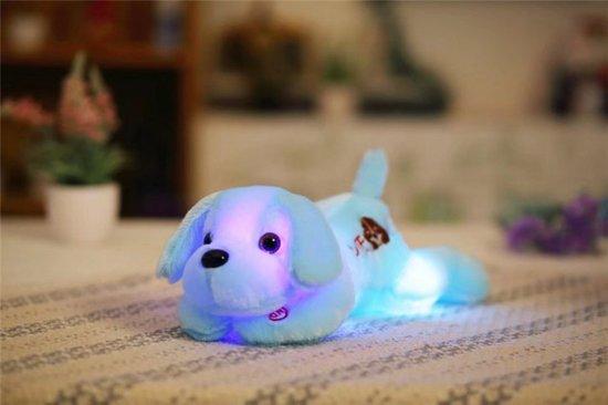 Knuffel Met Licht : Bol lichtgevende knuffel hond die licht geeft prachtige