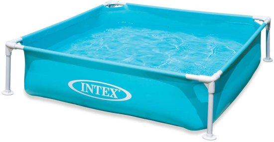 Intex Zwembad Mini Frame 122x122x30 cm 57173NP