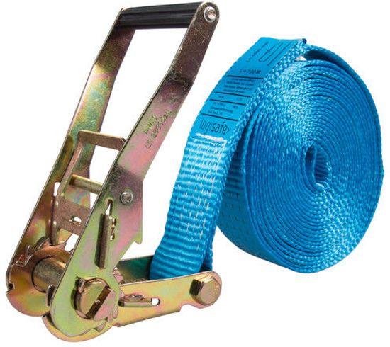 Logistiekconcurrent.nl Eindloze spanband 50 mm. 5 ton 8M Blauw