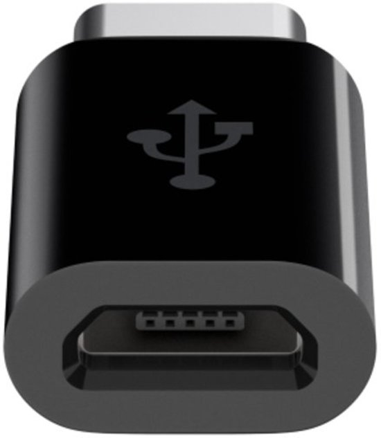 Belkin kabeladapter Micro-USB naar USB-C - Zwart in Emmeloord