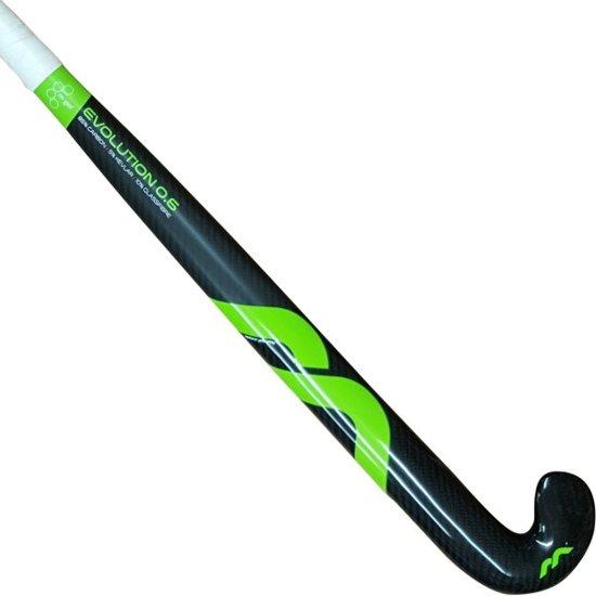 Mercian Hockeystick Evolution 0.6 Pro M Zwart/groen 36,5 Inch