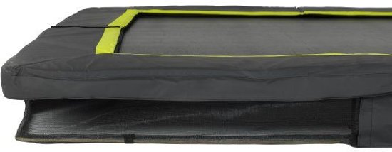 EXIT Silhouette inground trampoline 244x366cm - zwart