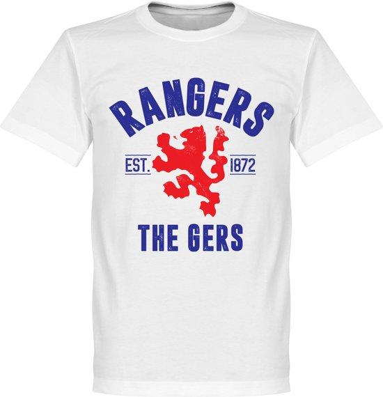 Rangers Established T-Shirt - Wit - XL