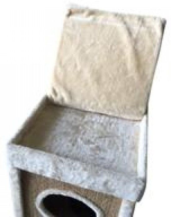 Topmast Krabpaal  Rockpalace Beige 40 * 40 *  120 cm