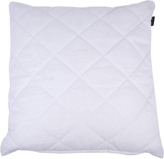 In The Mood Carree Padded - Sierkussen - 50x50 cm - Ivoor Wit