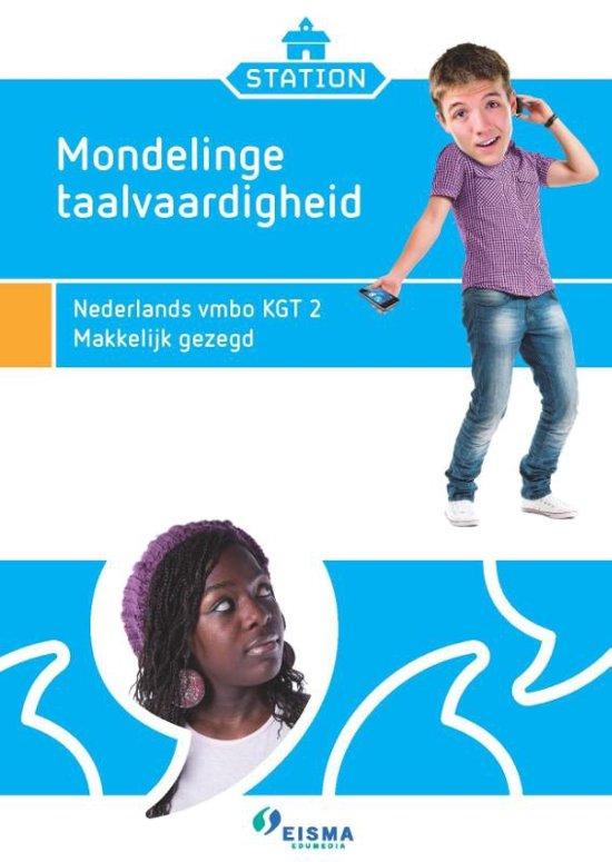 Station Taalverzorging set van 5 Nederlands vmbo kgt 2