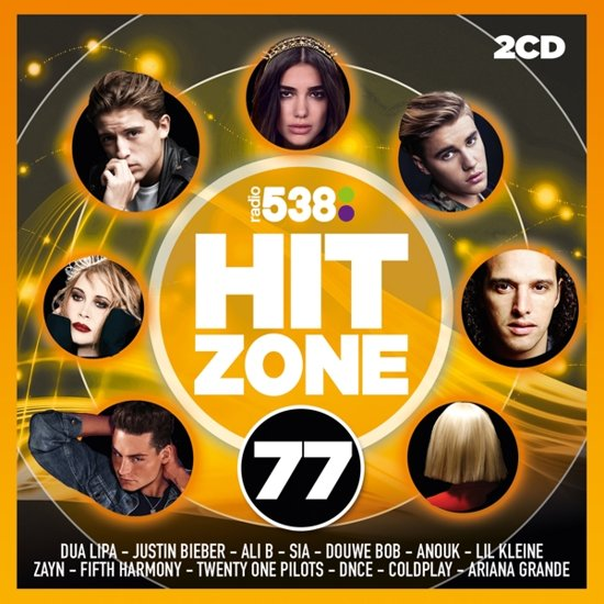 CD cover van 538 Hitzone 77 van Hitzone