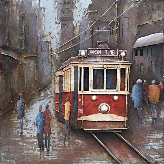 3d Schilderij Metaal.3d Schilderij Metaal Tram