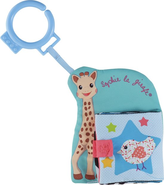 Afbeelding van Sophie de Giraf - Vriendjes ontdekboekje speelgoed