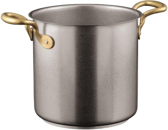 Kookpan Vintage extra hoog 20 cm - Sambonet