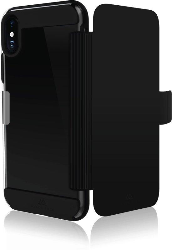"""Black Rock Portfolio """"Air Fitness"""" voor Apple iPhone X, Zwart"""