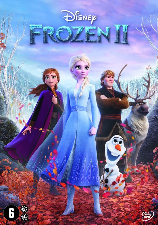 DVD cover van Frozen 2