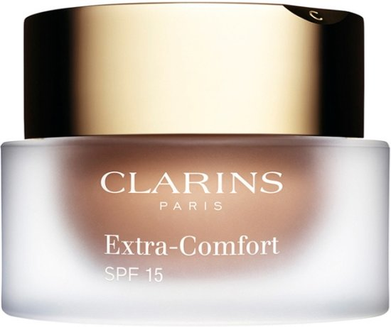Clarins Extra-Comfort SPF 15 Foundation kleur 114 - Capuccino