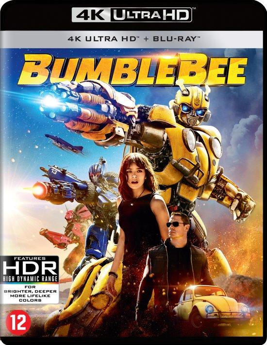 DVD cover van Transformers - Bumblebee (4K Ultra HD Blu-ray)