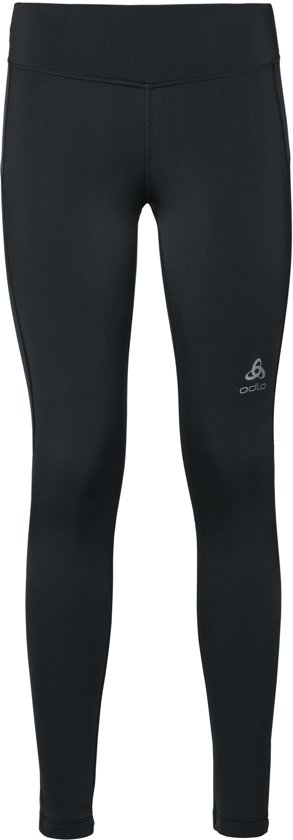 Odlo Bl Bottom Long Core Warm Hardloopbroek Dames - Black