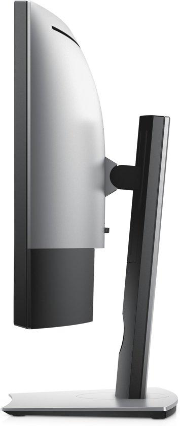 DELL UltraSharp U3419W LED display 86,7 cm (34.1'') WQHD Gebogen Mat Zwart, Grijs