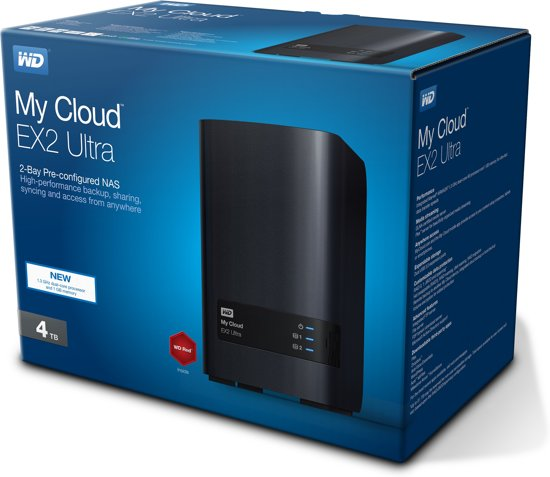 WD My Cloud EX2 Ultra 4TB NAS
