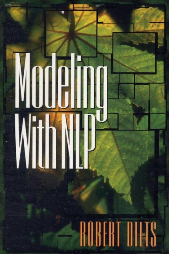 Boek cover Modeling with NLP van Robert D. Dilts (Paperback)