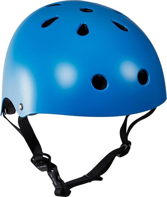 Essentials - Skatehelm - Kinderen - maat: 57-59cm / L/XL - Blauw