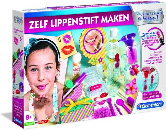 Afbeelding van Clementoni - Zelf Lippenstift Maken - Wetenschap en Spel - Experimenteerset speelgoed