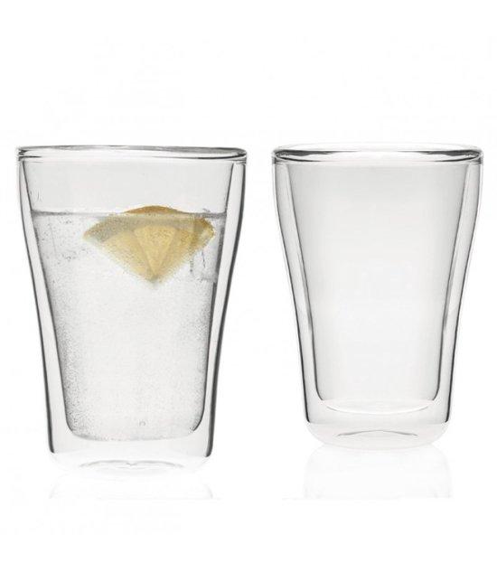 Leonardo Duo Dubbelwandig Latte Macchiato glas - 2 stuks