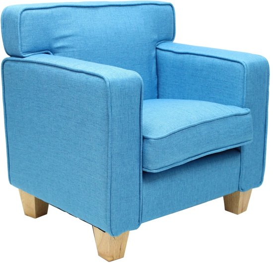 Teddy Kinder Fauteuil Palmboom Baby Blauw