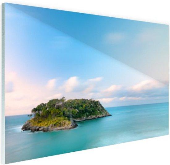 San Nicolas eiland Spanje Glas 120x80 cm - Foto print op Glas (Plexiglas wanddecoratie)