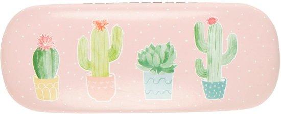 brillenkoker sass & belle , pastel cactus