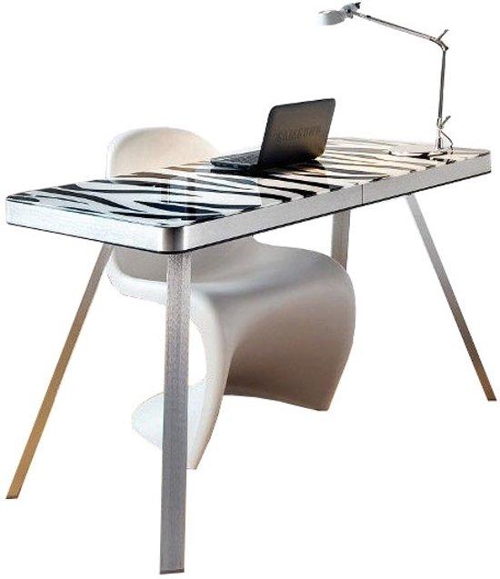 bolcom Jahnke Moebel Smart Desk Bureau 120 cm Zebra