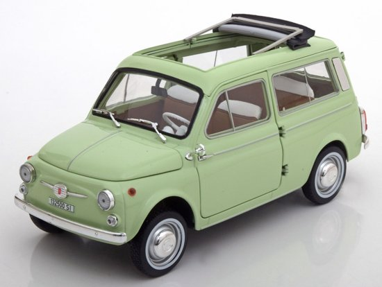 fiat 500 giardiniera 1962 groen 1 18 norev speelgoed. Black Bedroom Furniture Sets. Home Design Ideas