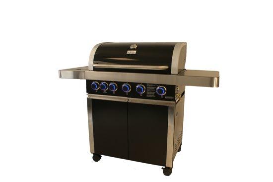 Patton Prominent 5+ Burner Cabinet Gasbarbecue - 5 branders - Nova Black