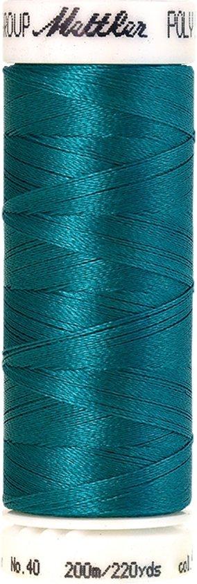 Mettler borduurgaren - Blauw - Nr 4421 - Polysheen - 200 meter