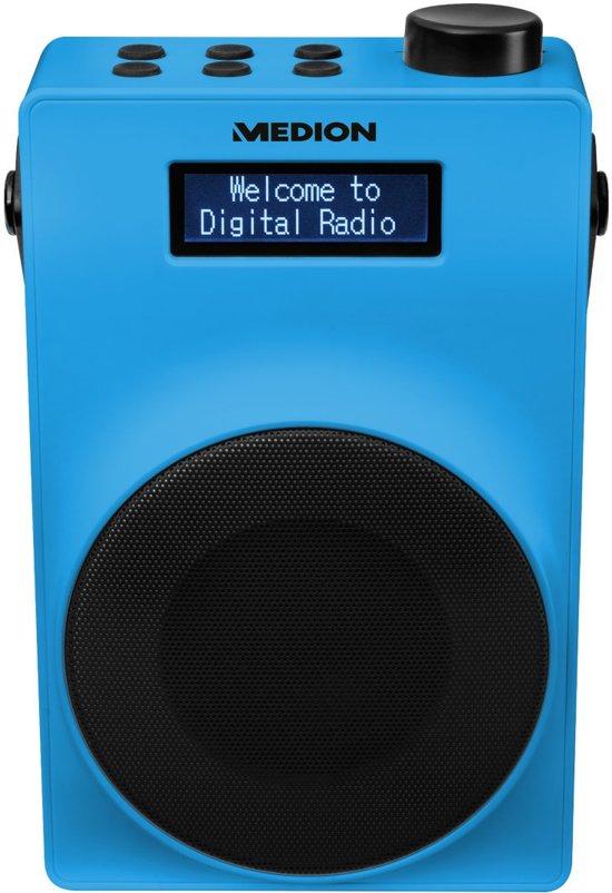 MEDION® LIFE E66880 Draagbare DAB+ Radio (blauw)