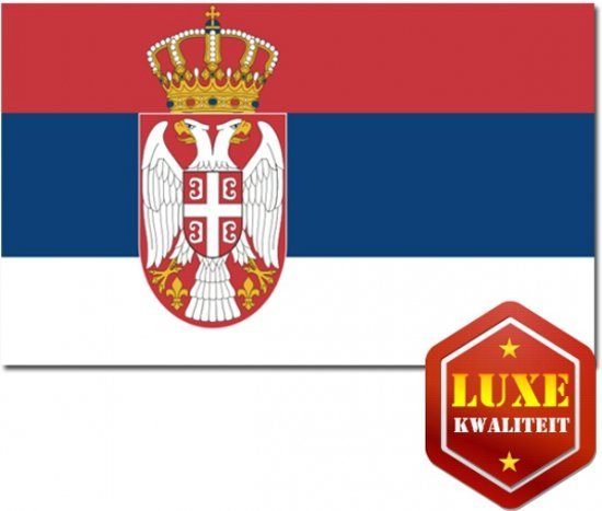 Luxe vlag Servie