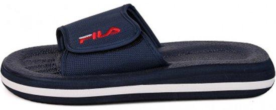 3fc51b347239 Fila Slippers - Strap-One - Blauw - Maat 43