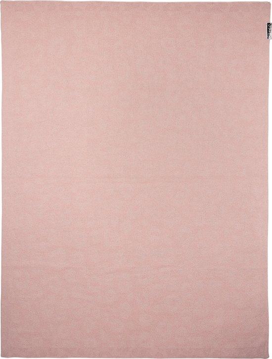 Meyco Panter wiegdeken - 75x100 cm - roze