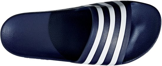 Unisex Adidas Maat Adilette Navy 40 Aquaslippers 5 wit ZzzO14r