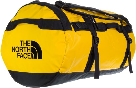 b614454a2 The North Face Base Camp Duffel Reistas L - 95 L - Summit Gold / TNF Black