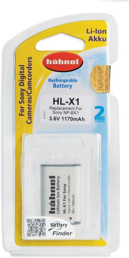 Hähnel HL-X1 Li-Ion accu (Sony NP-BX1)