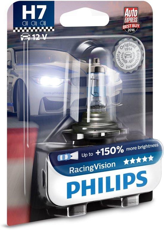 philips racing vision 150 h7 1 lamp 12v. Black Bedroom Furniture Sets. Home Design Ideas