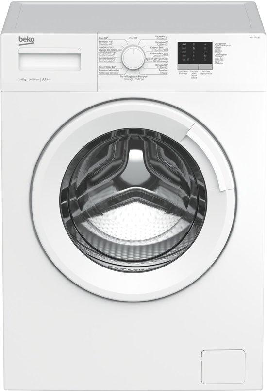 Beko WCV6711BC - Wasmachine - Voorlader - 6kg - Wit