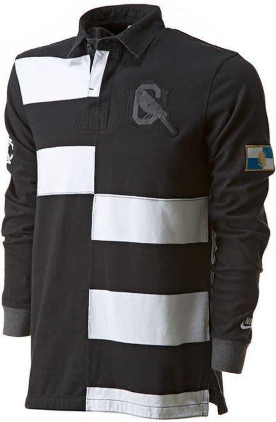 wit Shirt ZwartL Banner Old Rugby Nike School Zwart wvn0OmN8