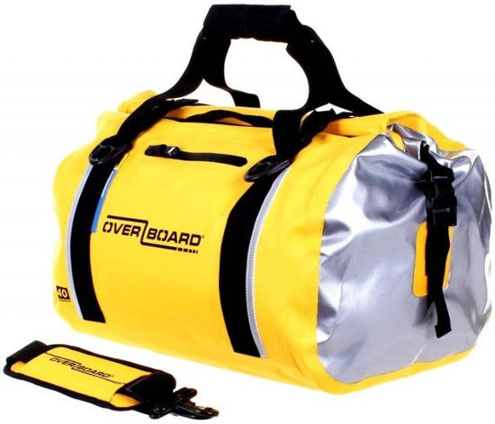 e2ac495c7f3 bol.com | Overboard Classic Waterproof Duffel Bag Geel - 40 Liter